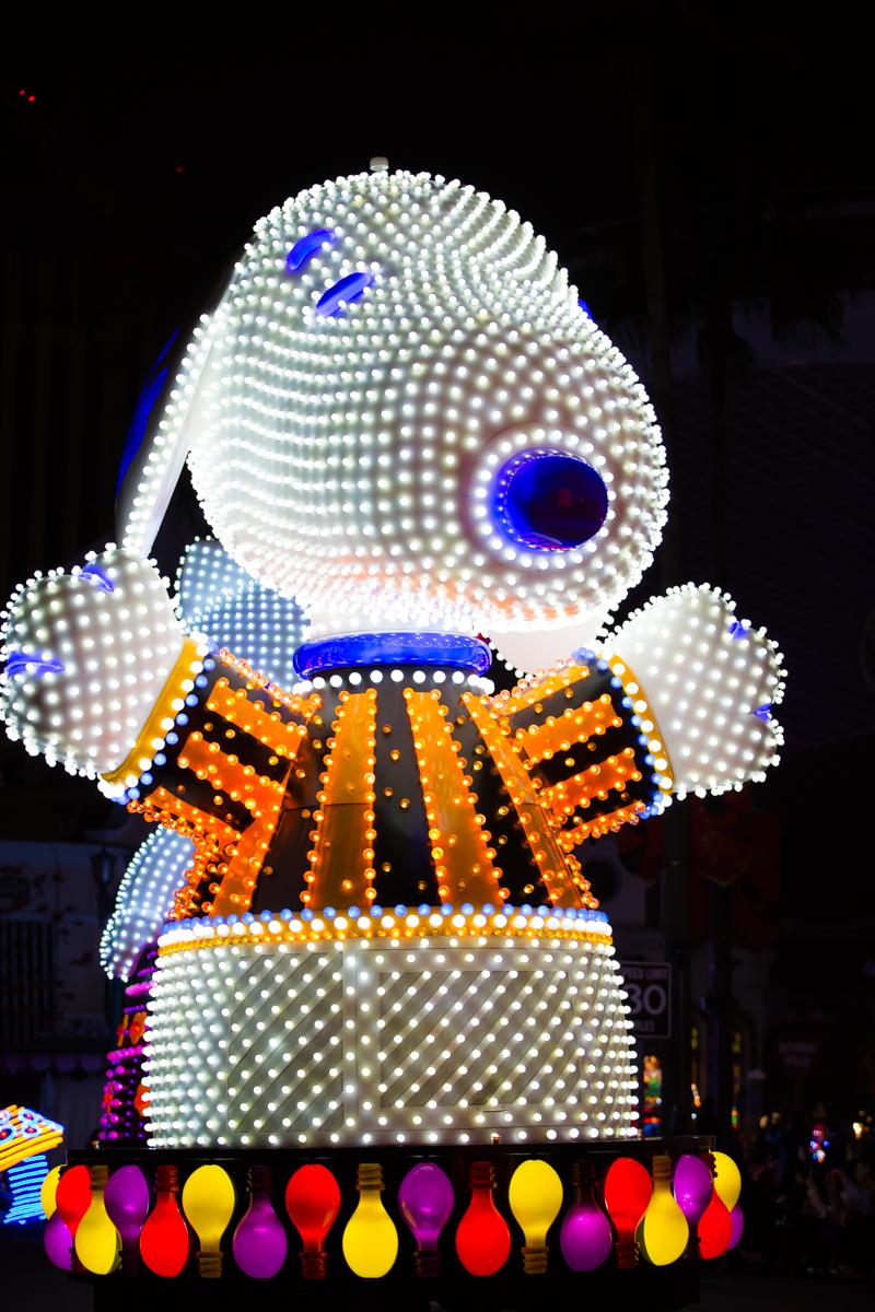 USJマジカルスターライトパレード