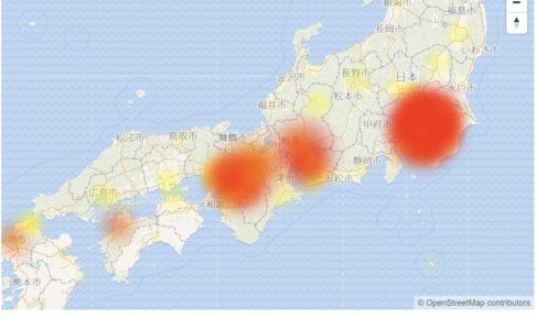 ソフトバンク 通信障害