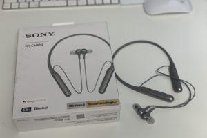 SONYノイズキャンセリングイヤホンWI-C600N